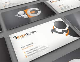 midget tarafından Design Business Card for Eazy Coach için no 12