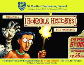 #49 para Design a flyer for the school open day por TerrickD351gn