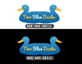 nº 6 pour Design a Logo for two blue ducks bar and grill par iwrotethose