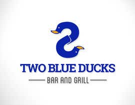 #11 for Design a Logo for two blue ducks bar and grill by frelobr