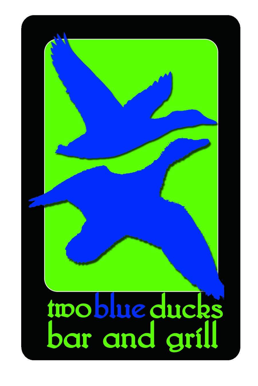Kilpailutyö #27 kilpailussa Design a Logo for two blue ducks bar and grill