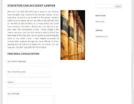 nº 5 pour Attorney Website Stockton CA contest par lauranl