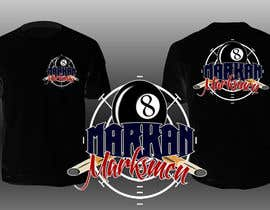 joshuaco13 tarafından T-Shirt Design for 8-Ball Pool team için no 21