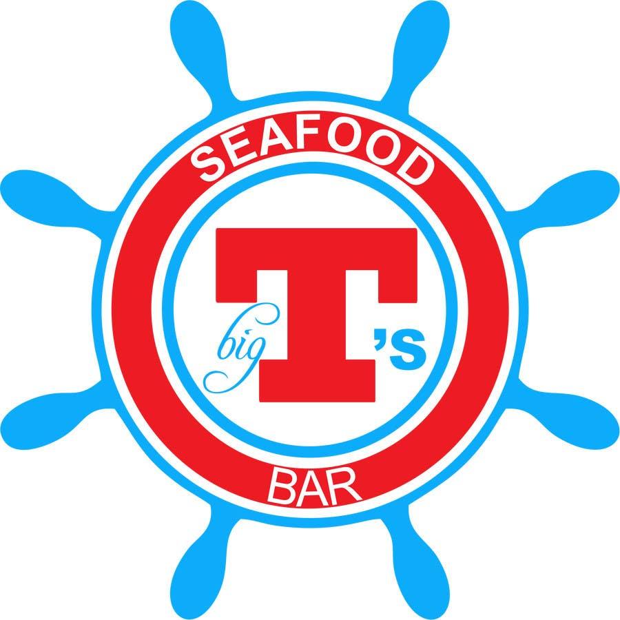 Kilpailutyö #28 kilpailussa Design a T-Shirt for Big T's Seafood