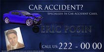 Graphic Design Contest Entry #142 for Design a billboard for Injury Attorney Eric Posin
