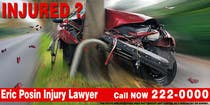 Graphic Design Contest Entry #155 for Design a billboard for Injury Attorney Eric Posin