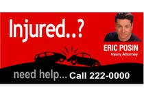 Bài tham dự #33 về Graphic Design cho cuộc thi Design a billboard for Injury Attorney Eric Posin