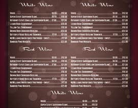 nº 4 pour Design a drinks menu for an Indian restaurant par coraggiodesign