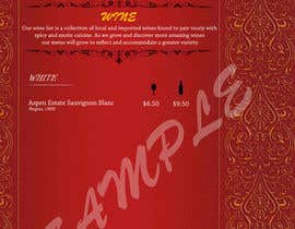 nº 3 pour Design a drinks menu for an Indian restaurant par lingsharma