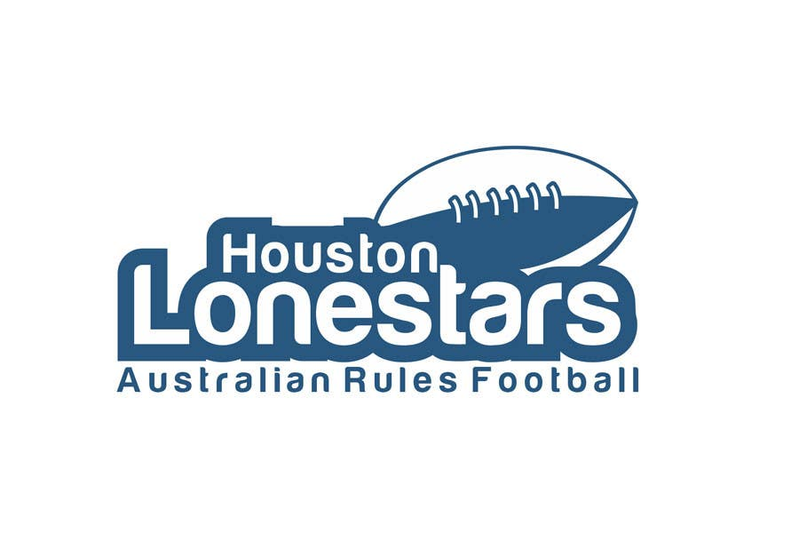 Contest Entry #                                        185                                      for                                         Logo Design for Houston Lonestars Australian Rules Football team