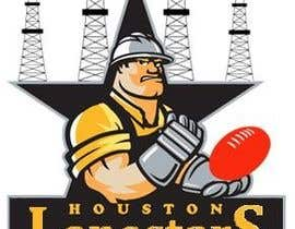 nº 125 pour Logo Design for Houston Lonestars Australian Rules Football team par mikster01