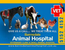 nº 25 pour Graphic Design for Bairnsdale Animal Hospital par mohihashmi