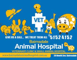 nº 34 pour Graphic Design for Bairnsdale Animal Hospital par mohihashmi