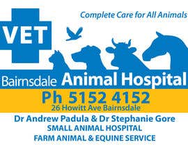 #43 para Graphic Design for Bairnsdale Animal Hospital por eenchevss