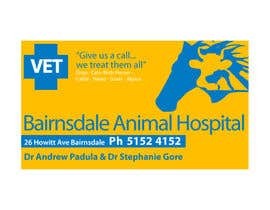 #33 para Graphic Design for Bairnsdale Animal Hospital por smhdzines