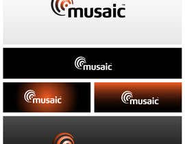 #518 para Logo Design for Musaic Ltd. por maidenbrands