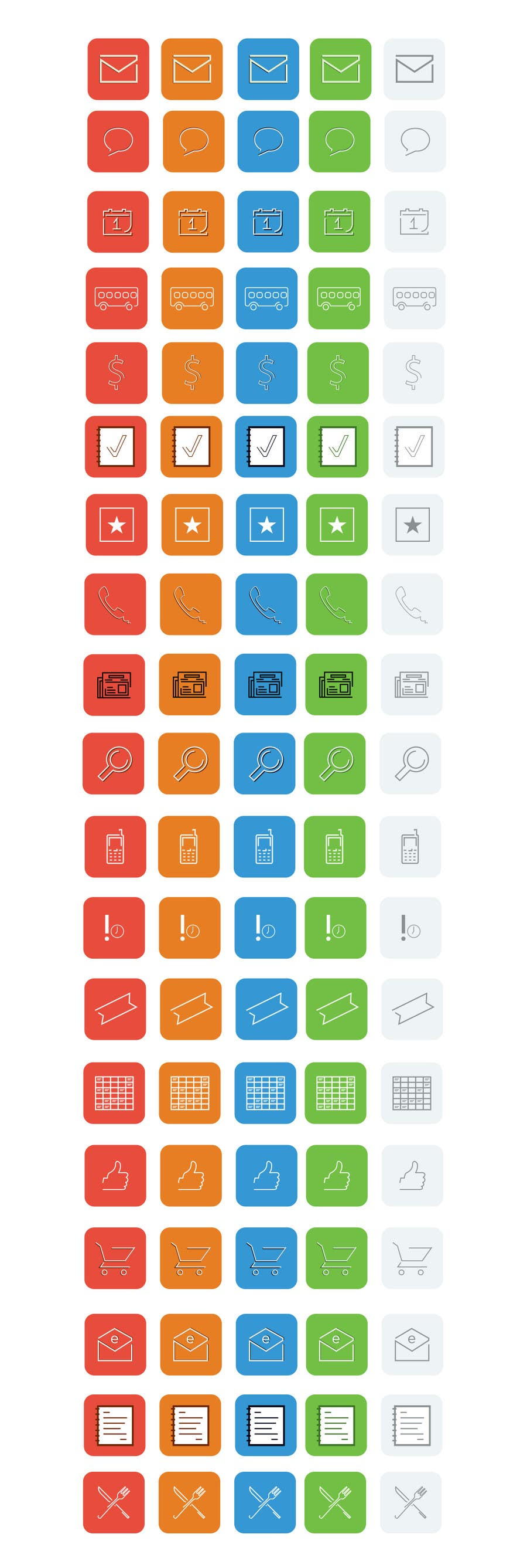 #25 for Design some Icons for Our apps by darefremov