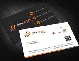 #14 for Design some Business Cards for Nex-Trak.com by jaisonjoseph91