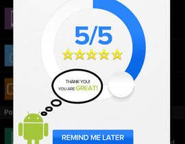 #12 for Rating Motivation Screen for Android App by aliraza91