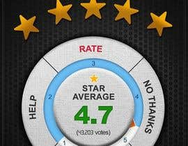 #8 para Rating Motivation Screen for Android App por ProliSoft