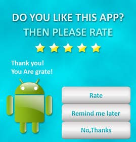 #4 for Rating Motivation Screen for Android App by dulphy82