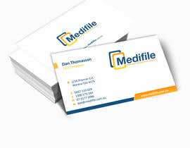 #58 para Design some Business Cards for Medifile por ezesol