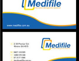 #35 para Design some Business Cards for Medifile por designfrenzy