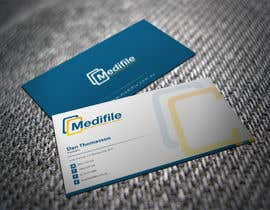 #26 para Design some Business Cards for Medifile por shyRosely