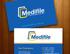 #44 para Design some Business Cards for Medifile por tuankhoidesigner