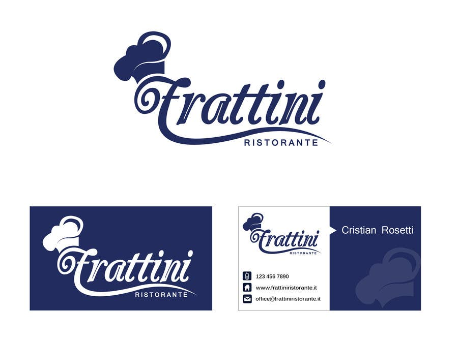 #48 for Design a Logo for Frattini Restaurant by alexandracol