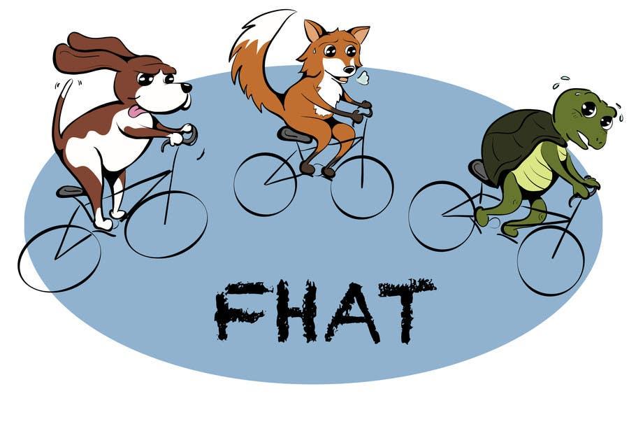 Kilpailutyö #19 kilpailussa Design a Logo for a cycling group