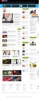 Kilpailutyön #1 pienoiskuva kilpailussa Redesign Joomla Landing Page