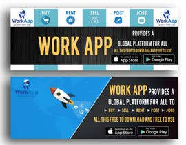 #3 for Facebook Cover for Newly Launched Global App - WorkApp by AkshayVerma9