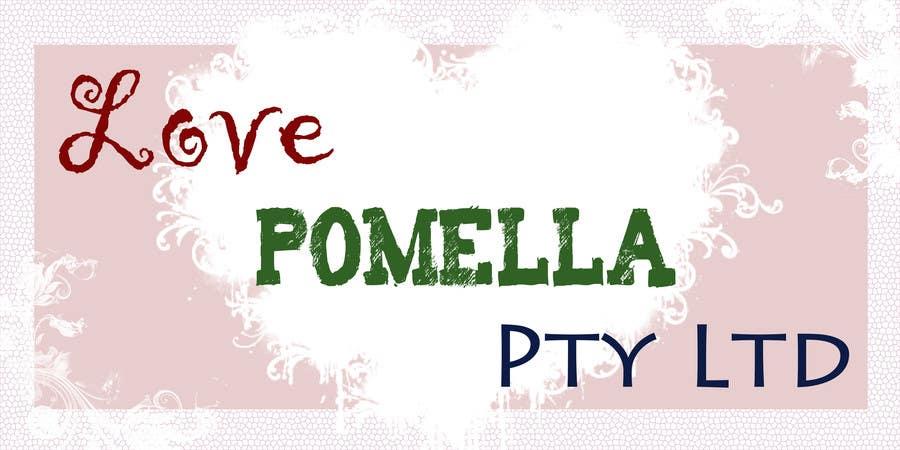 Love Pomella Pty Ltd için 32 numaralı Yarışma Girdisi