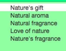 Write a tagline for our Fragrance/Aroma Company | Freelancer