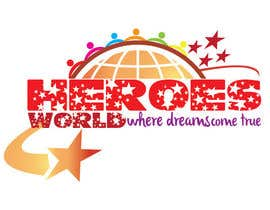 #57 para Design a Logo for HEROES WORLD por hammadraja
