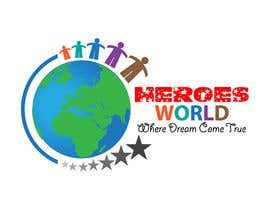 #56 para Design a Logo for HEROES WORLD por sainil786