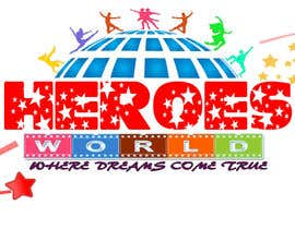 #60 para Design a Logo for HEROES WORLD por nandhakumar0711