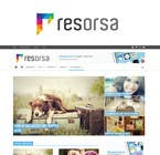 #646 for Design en logo for Resorsa by mariadesigns78