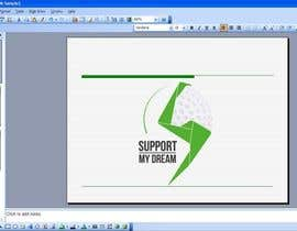 #1 para SMD - Layout for ppt-presentation of Dream/Golf Website por smtechnology