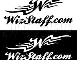 #154 for Logo for WizStaff af john6185