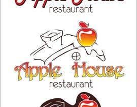 Nro 14 kilpailuun Create Logo for restaurante /Разработка логотипа для ресторана Apple House käyttäjältä CioLena