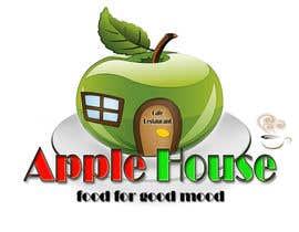 nº 31 pour Create Logo for restaurante /Разработка логотипа для ресторана Apple House par Pato24