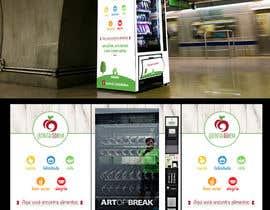 #15 para Projetar adesivagem para máquina automática de venda de alimentos (vending machine) por DonRuiz
