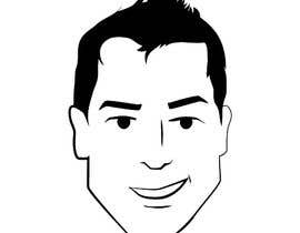 nº 97 pour Simple face drawing (Sample provided) par liquidc