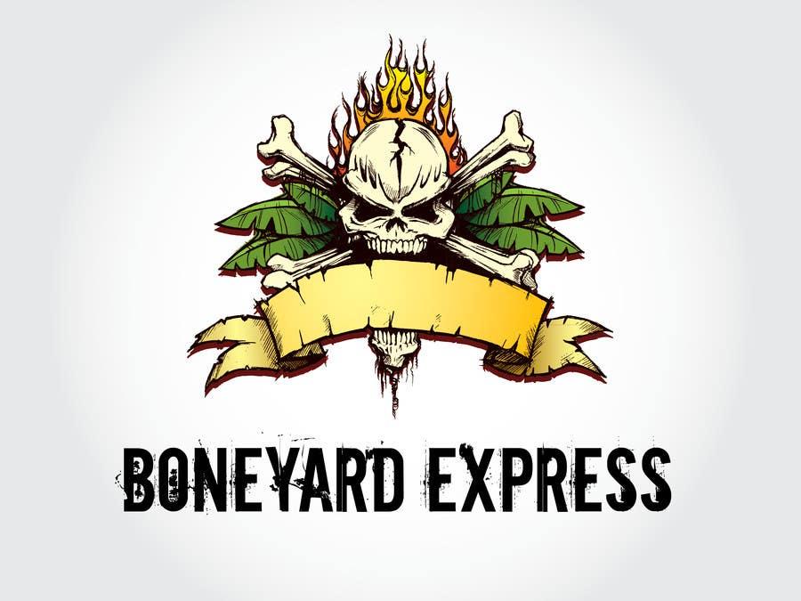 Penyertaan Peraduan #36 untuk Design a Logo for Boneyardexpress - repost