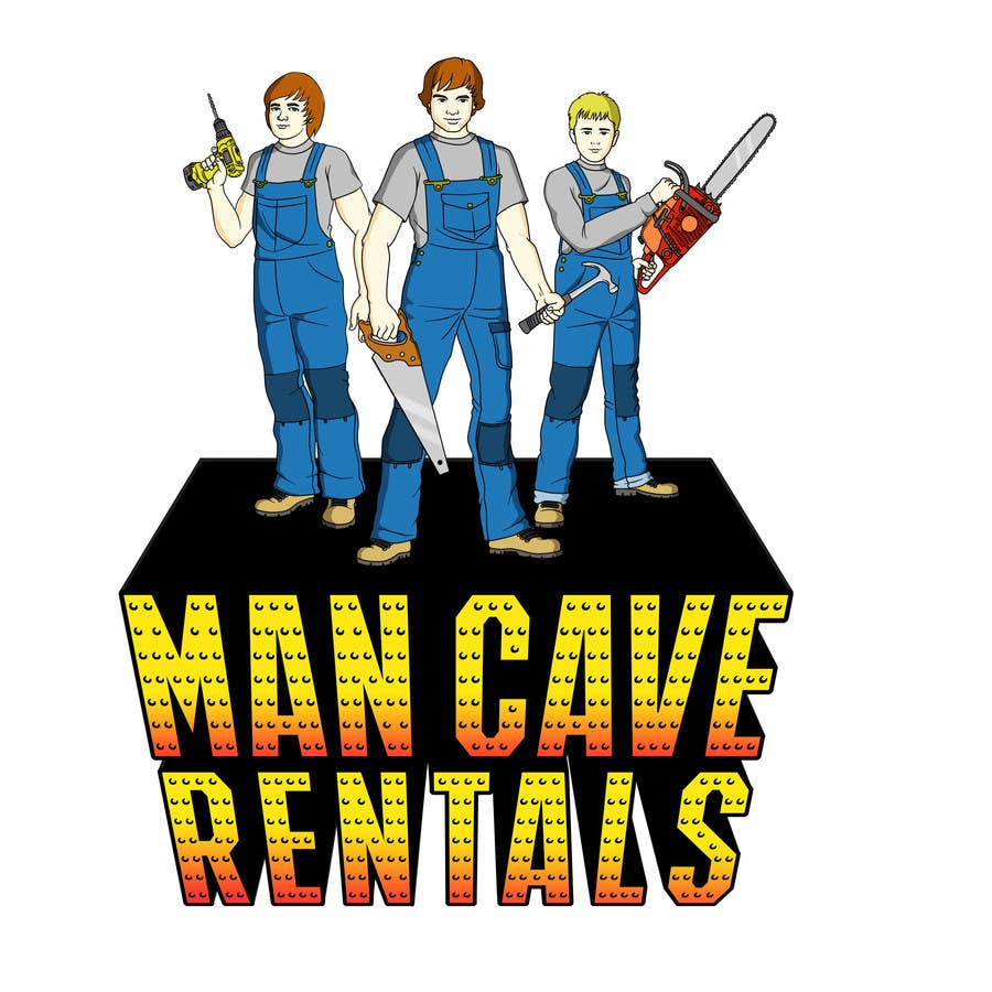 Contest Entry #54 for Man Cave Rentals