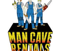 #54 for Man Cave Rentals by asterix01