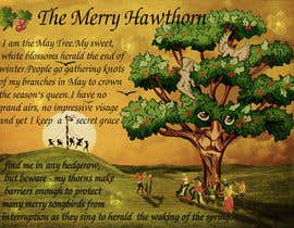 #34 untuk Adding colour and background to  The Merry Hawthorn oleh MeetVala
