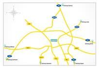 Graphic Design Konkurrenceindlæg #3 for Map Design
